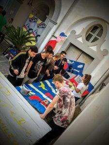 contaminazioni street art