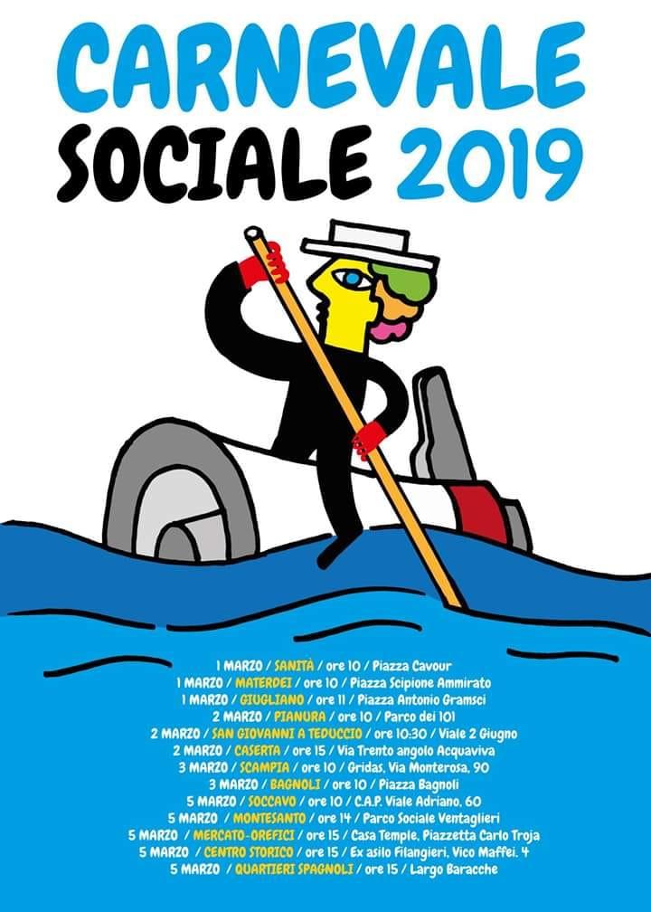 carnevale sociale napoli 2019