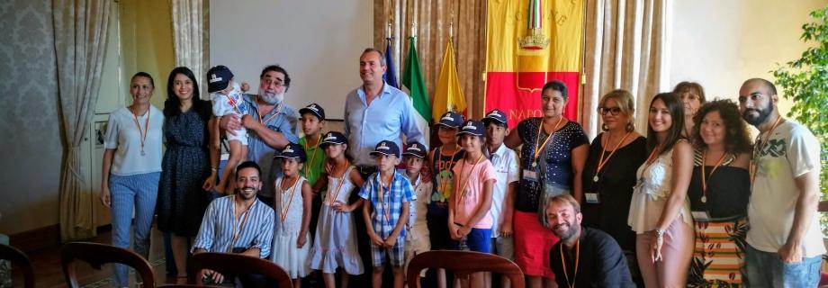 Inclusione Scolastica dei Minori Rom: il progetto termina con una visita a Palazzo San Giacomo