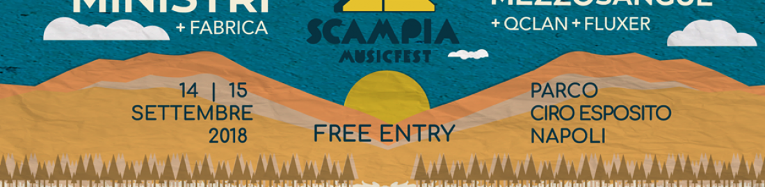 Lo Scampia Music Fest cambia location all'ultimo minuto!