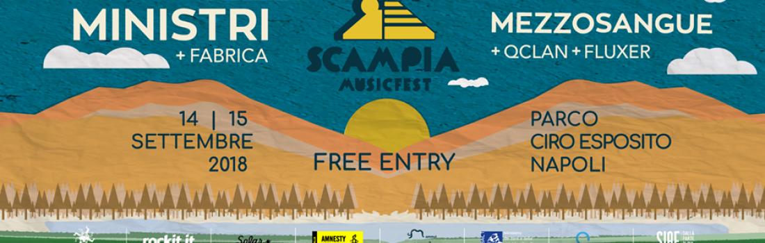 Scampia Music Fest 2018: i Ministri e Mezzosangue sul palco il 14 e il 15 settembre