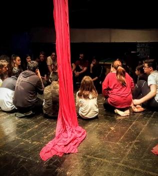 Spettacolo Circense: le nostre educative in scena al Teatro Area Nord di Napoli