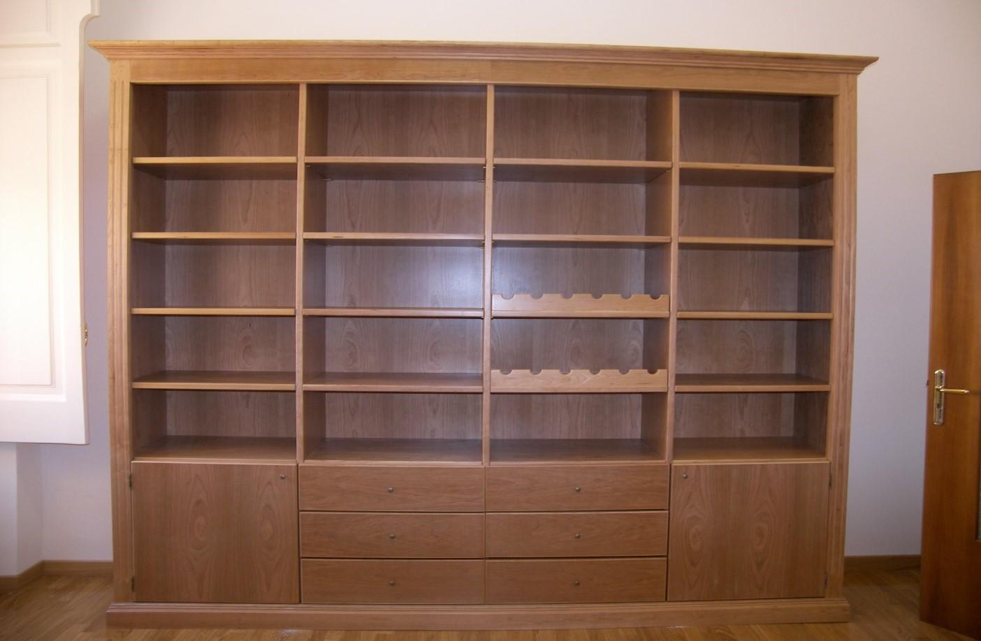 Libreria in ciliegio